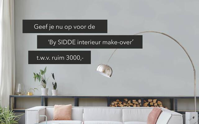 Win een interieur make-over t.w.v. ruim 3000,-.