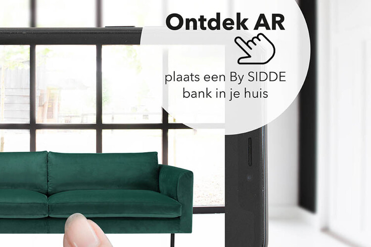 Test je favoriete By SIDDE bank in Augmented Reality!